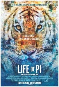 Una Aventura Extraordinaria. Life of Pi. Nominada a mejor película 2013