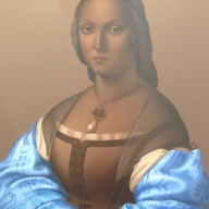 Mary Waters – Woman with Blue Sleeves