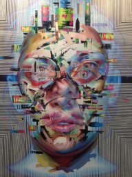 """Esta es la pieza que más me gustó de Zona Maco, de Justin Bower de su galería """"Panic Room"""""""